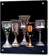 Kiddush Cups Acrylic Print