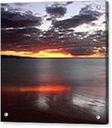 Kihei Silvery Sunset Acrylic Print