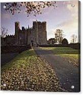 Kilkea Castle, Co Kildare, Ireland Road Acrylic Print