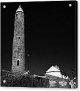 Killala Round Tower County Mayo Ireland Acrylic Print