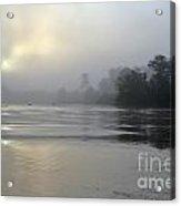 Kinabatangan River At Sunrise Acrylic Print