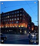 King And Spadina Acrylic Print