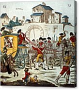 King Louis Xvi: Arrest Acrylic Print
