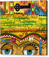 King Of Keys Acrylic Print