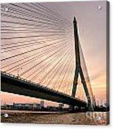 King Rama Bridge Bangkok Acrylic Print