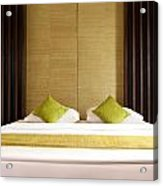 King Size Bed Acrylic Print