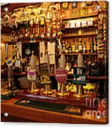 Kings Head Pub Kettlewell Acrylic Print