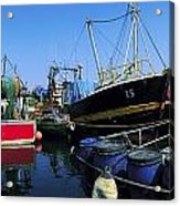 Kinsale, Co Cork, Ireland Fishing Boats Acrylic Print