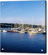 Kinsale, Co Cork, Ireland Moored Boats Acrylic Print