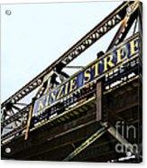 Kinzie Street Stop - Chicago Acrylic Print