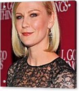 Kirsten Dunst  Wearing Fred Leighton Acrylic Print by Everett