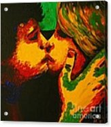 Kiss Me Before Is Too Late Acrylic Print