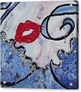 Kiss This Acrylic Print