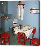 Kitchen In Color Acrylic Print
