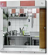 Kitchen Window Acrylic Print by Magomed Magomedagaev