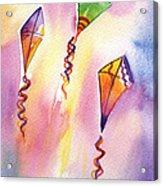Kite Rockets Acrylic Print by Lydia Irving