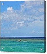 Kitesurfing In Kauai II Acrylic Print
