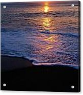 Kitty Hawk Beach At Sunset Acrylic Print
