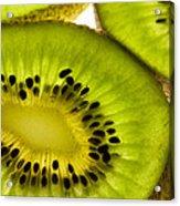 Kiwi Fruit Macro 5 Acrylic Print