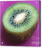 Kiwi On Pink Acrylic Print