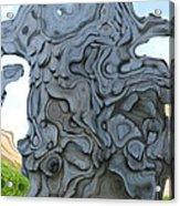 Knarly Tree Abstract Acrylic Print