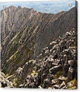 Knife Edge Mount Katahdin Baxter State Park Acrylic Print
