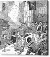 Knighting The Sirloin Acrylic Print by Granger