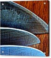 Knives Acrylic Print