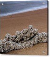 Knots On The Sand Acrylic Print