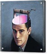 Knowledge, Conceptual Artwork Acrylic Print