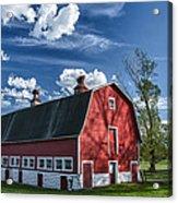 Knox Barn 13829c Acrylic Print