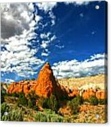Kodachrome Basin State Park Acrylic Print by Mark Smith