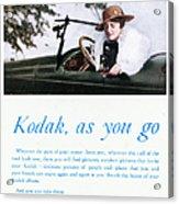Kodak Advertisement, 1917 Acrylic Print
