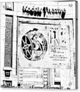 Kodak Theatre Acrylic Print