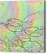 Koi Rainbow Acrylic Print
