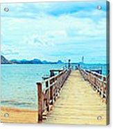Komodo Panorama Acrylic Print
