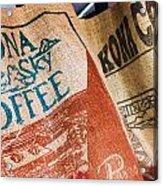 Kona Coffee Acrylic Print