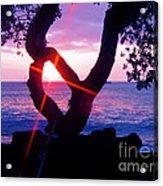 Kona Sunset Hawaii Acrylic Print