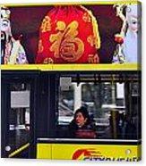 Kong Kong Bus Acrylic Print