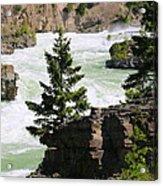 Kootenai Falls In Montana Acrylic Print