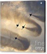 Korean Black Eagles Acrylic Print