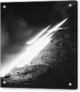 Korean War: Rocket Launch Acrylic Print
