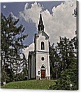 Kostel Panny Marie Lourdske Acrylic Print