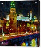 Kremlin Lights Acrylic Print