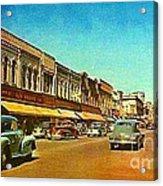 Kresge's Department Store In Oshkosh Wi In 1950 Acrylic Print