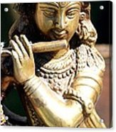 Krishna Song Acrylic Print