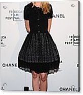 Kristen Bell At Arrivals For Chanel Acrylic Print