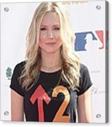 Kristen Bell In Attendance For Stand Up Acrylic Print by Everett