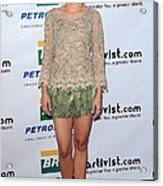 Kristen Bell Wearing An Alberta Acrylic Print