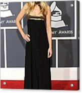 Kristen Bell Wearing An Etro Gown Acrylic Print by Everett